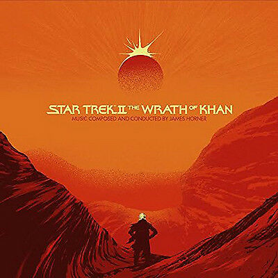 Star Trek II: The Wrath of Khan VINYL (2016) ***NEW***