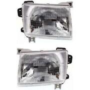 2000 Nissan Frontier Headlights
