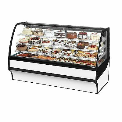 True Tdm-r-77-gege-s-w 77 Refrigerated Bakery Display Case