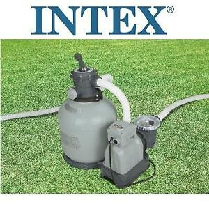 NEW* INTEX SAND FILTER PUMP 28651EG 251105235 KRYSTAL CLEAR, FOR ABOVE GROUND POOLS 3000GPH FLOW RATE, GFCI