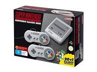 Brand New Nintendo SNES Classic Mini