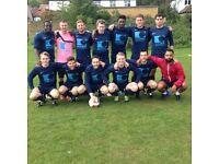 Footballers wanted! Pre season game this Sunday in Raynes Park, regular season played in Bellingham