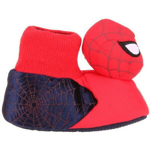 Disney Spiderman Light Slippers & Batman size infant/toddler 5/6