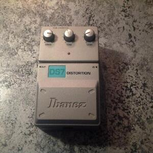 Ibanez distortion pedal