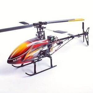 6 Channel Helicopter PRO RTF Carbon Helicopter stable flight~TREX 450 Clone! New