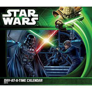 Star Wars 2014 Desk Calendar