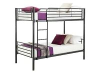 Boltzero white bunk bed.