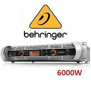 NEW OB BEHRINGER 6000W AMPLIFIER NU6000DSP 140477603 POWER AMP DSP CONTROL USB INTERFACE OPEN BOX