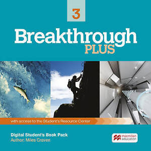 Breakthrough Plus Level 3 Digital Student's Book Pack by Miles Craven (Mixed...