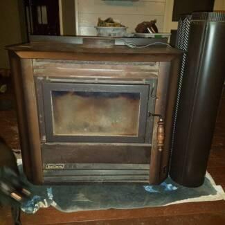 Fan Forced Wood Fire Heater (Heat Charm)