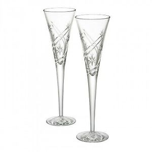 12 new crystal glasses, cost $300 sell $75 - Nice gift !