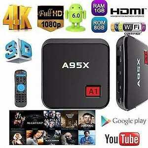 ANDROID TV 6.0 A95X A1 4K IPTV/KODI MEDIA PLAYER