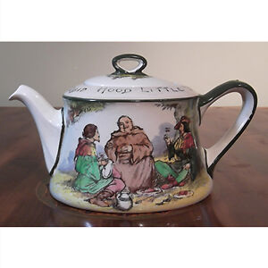 Antique Royal Doulton Robin Hood Teapot