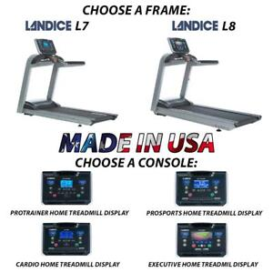Top Quality Treadmill treadmills Landice L7 L8 w/ Orthopedic Suspension Made in USA
