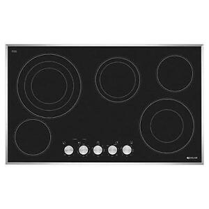 36-inch Built-in Electric Cooktop with Dual-Choice Elements