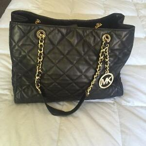 Michael Kors Susanna Quilted Leather tote