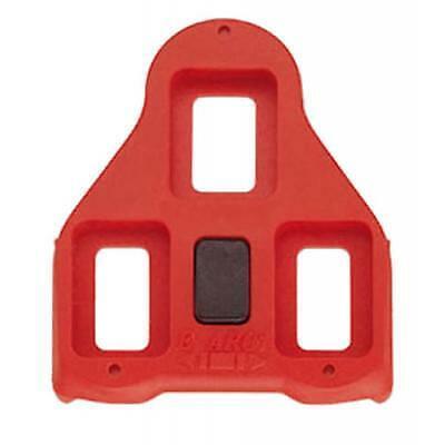 Juego calas carretera pedales automaticos sistema look 9 grados movilidad rojas