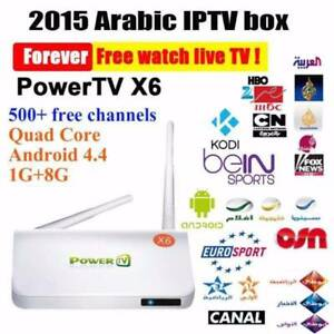 Arabic/ English iptv box free tv channels Canning Vale Canning Area Preview