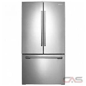 100- Frigo  NEUF- NEW   Réfrigérateur   SAMSUNG Métal Stainless Steel Fridge  NEUF - NEW