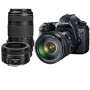 $2500 Canon EOS 6D DSLR Camera with Canon 24-105mm f/