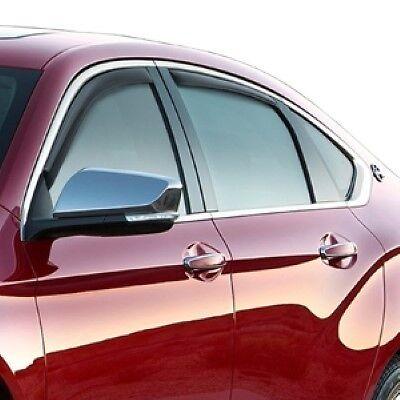 19329340 2014-2017 Chevrolet Impala OEM Side Window Ventvisor Weather Deflectors