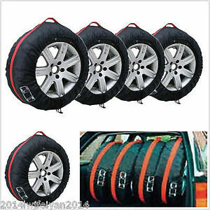 Mouse over image to zoom4x-Car-Seasonal-Spare-Tyre-Tire-Protec