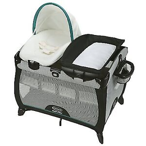 Graco Pack ' N Play Quick Connect Portable Lounger Playard
