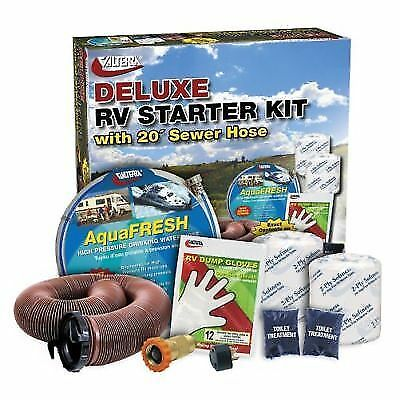 Valterra K88108 De Luxe RV Outdoor Camper Accessory Starter Kit w/ Pure Power