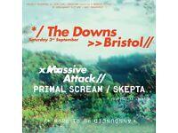 Massive Attack Bristol Downs Tickets for sale X 4 £50 each