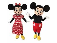 Wanted - Mickey & Minnie Mouse Mascot Costumes