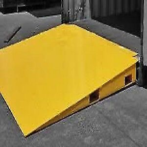 Ramp boards, dock boards and dock plates, fork extensions