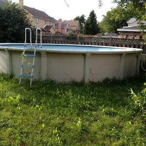 Price Reduced!! Above ground pool!!!