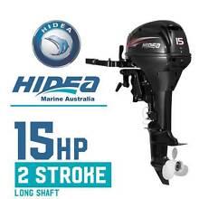 Outboard Boat Motor 15hp 2 Stroke Long Shaft 15FL HIDEA Marine Altona North Hobsons Bay Area Preview