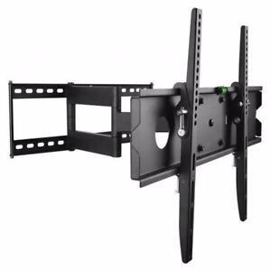 FULL MOTION TV WALL MOUNT BRACKET PROTECH FL-504 FOR 40 INCH -65 INCH TV  BRACKET HOLD 50KG/110Lb