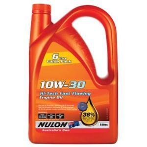 Nulon-Hi-Tech-Fast-Flowing-Engine-Oil-10W-30-6-Litre