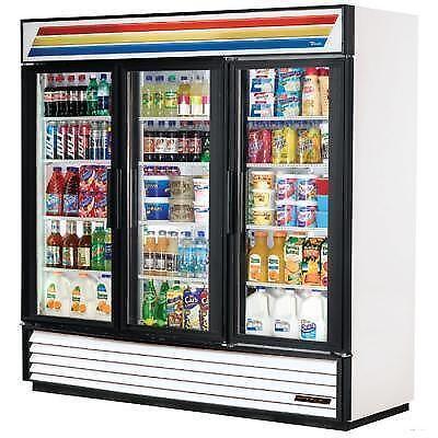 3 Glass Door Refrigerator