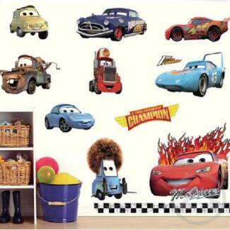 Disney Pixar CARS Wall Decal/Wall Stickers/Wallpaper/Mural Part 90