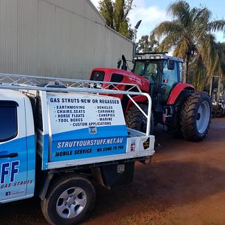 Strut Your Stuff Gas Struts and Headlight Refresh & prado tailgate door in Perth Region WA | Gumtree Australia Free ...