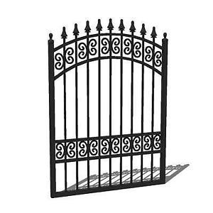Delicieux Wrought Iron Metal Garden Gates