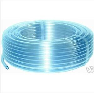 Clear 1M Plastic PVC Hose Pipe Tube Air Water Windscreen Washer Food Home Pond