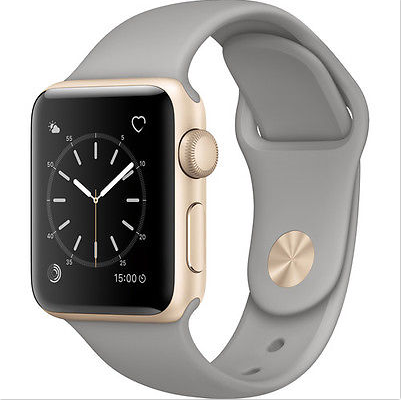 Apple Watch Series 2 38mm Gold-Tone Aluminum Case with