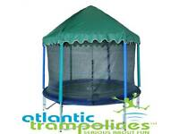 Trampoline net and tent