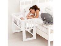 John Lewis Troll Bedside Next 2 Me Crib Bench