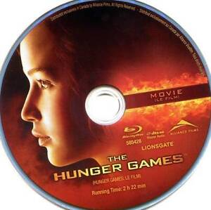 the hunger games. 4 blu-ray movies.for all.