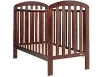 IMMACULATE CONDITION BABY COT OBABY WITH MATTRESS WOODEN HIGH QUALITY CHEAP