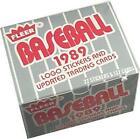 1989 Fleer Baseball Card Set