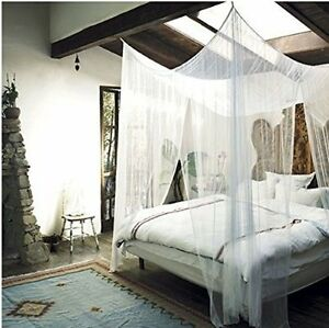 mesh bed canopy