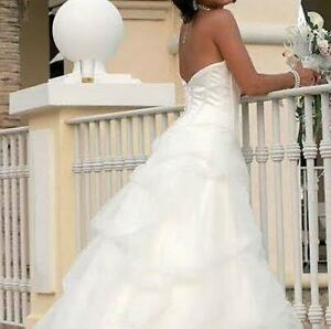 Wedding Dress Mikaella Cambridge Kitchener Area image 1