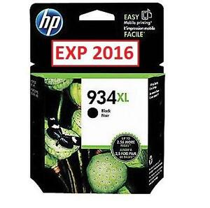 NEW* HP 934XL BLACK INK CARTRIDGE HP 934XL Black High Yield Original Ink Cartridge (C2P23AN) 100653117