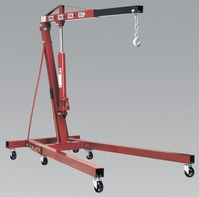 Sealey PH20 Folding Crane 2 Tonne Lightweight Equipment Workshop Garage